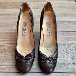 Jimmy Choo | Brown Heels | Size 40